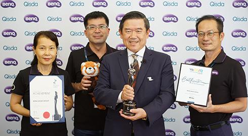 明基佳世達集團連續三年獲「亞洲最佳企業雇主獎」